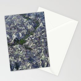 Holding up Stationery Cards