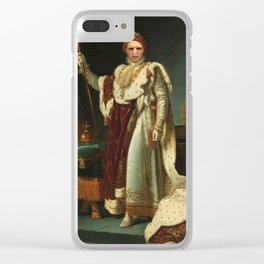 The Dark Lord Clear iPhone Case