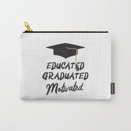Doctorate Graduated Degree Doctor Hat Promotion Carry-All Pouch