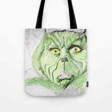 Grinch Tote Bag