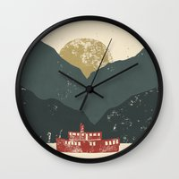 boat Wall Clocks featuring Boat by James White