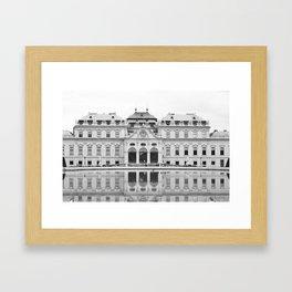 Belvedere Palace Framed Art Print