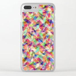 Turbulent Flow Clear iPhone Case