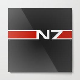 N7 Metal Print