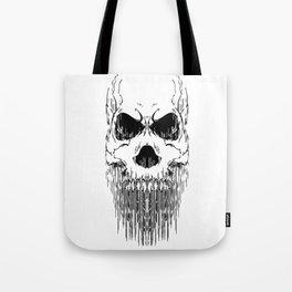 FULL FACE SKULL Tote Bag