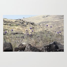 Purple Thistle Rug