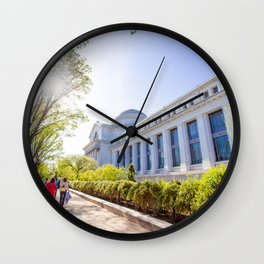 Smithsonian National Museum of Natural History Wall Clock