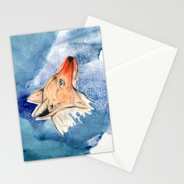 The Coyote Stationery Cards