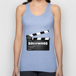 Bollywood Clapperboard Unisex Tank Top