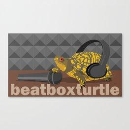 BeatBoxTurtle Canvas Print