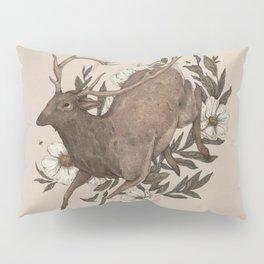 Floral Elk Pillow Sham