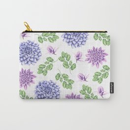 Lavender Garden Carry-All Pouch