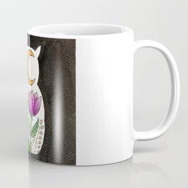 Moonflower Owl Coffee Mug