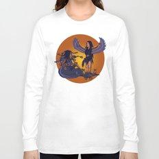 Medusa of Music meets Lilith Long Sleeve T-shirt
