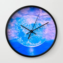 MOON BEAMS Wall Clock
