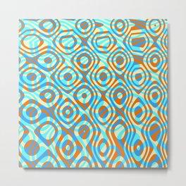 Mixed Polyps Orange - Coral Reef Series 038 Metal Print