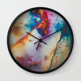 Copper Patina I Wall Clock