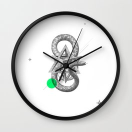 Archetypes Series: Rebirth Wall Clock
