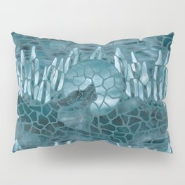 Moonlight Story (Teal) Pillow Sham
