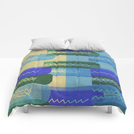Crocodiles Rush Comforters