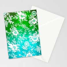 VINTAGE FLOWERS XVII - for iphone Stationery Cards