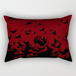 An Unkindness of Ravens Rectangular Pillow