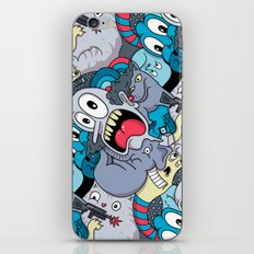 Mostly Blue iPhone & iPod Skin