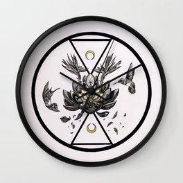 Soul Catalyst Hummingbird (Artwork by Carlos Sierra) Wall Clock