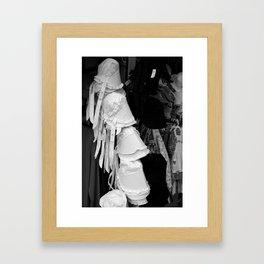 Bonnets  Framed Art Print