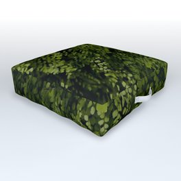 Small leaves Outdoor Floor Cushion