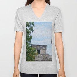 Temple of the Descending God Unisex V-Neck