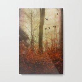 Autumn Feelings Metal Print