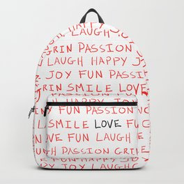 Love's Words Backpack