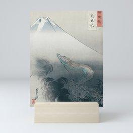Dragon rising to the heavens by Ogata Gekkō,1897 Mini Art Print