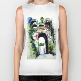 Arco Felice With Dragons Biker Tank