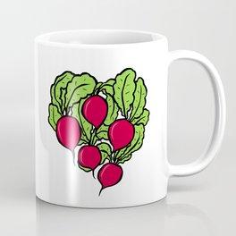 Love for Radishes Coffee Mug