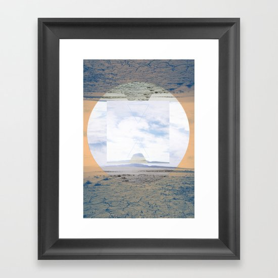 seamlessly run Framed Art Print