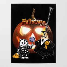 halloween Party Time Poster