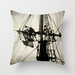 Loose The Sail Throw Pillow
