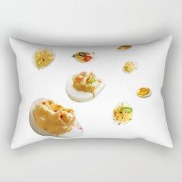 Deviled Eggs Rectangular Pillow