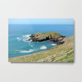 Dinas Bach II (Little Fort) - North Wales Coast Metal Print