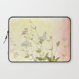 The air the flower breathes Laptop Sleeve