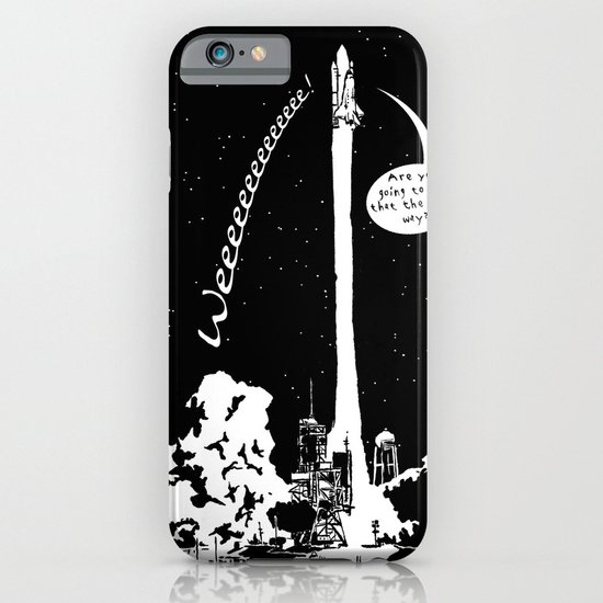 Space shuttle iPhone & iPod Case