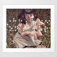 prometheus Art Prints featuring Prometheus by Sachin Teng