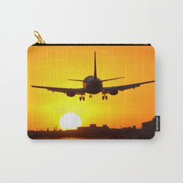 Beautiful 737 Sunset Carry-All Pouch