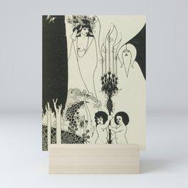 AUBREY BEARDSLEY Salome Oscar Wilde The Eyes of Herod Mini Art Print