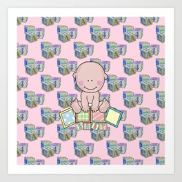Babies 1st Year Art Print