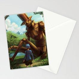 Steampunk Layton Stationery Cards