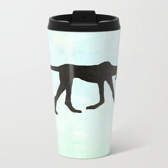 Rufus hound Metal Travel Mug