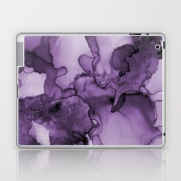 Color me purple- Abstract Painting Laptop & iPad Skin